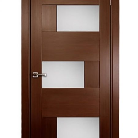 DOMINIKA-Interior-Single-Door-Wenge-Veneer-Contemporary-Design-with-Glass-Inserts-1
