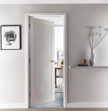 linear smooth door